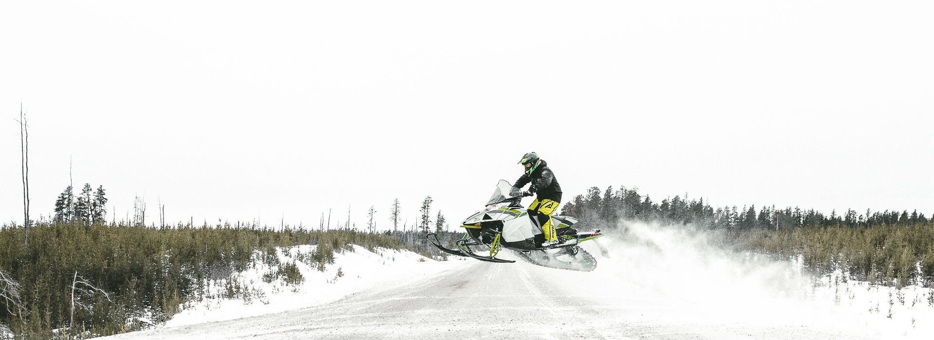 WINTERS HERE LETS RIDE