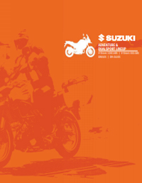 Suzuki Adventure and Dualsport