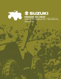 Suzuki Kingquad ATV Lineup