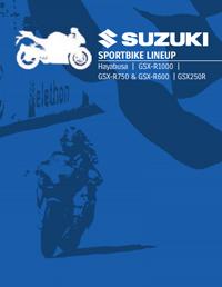 Suzuki Sport Bike Lineup