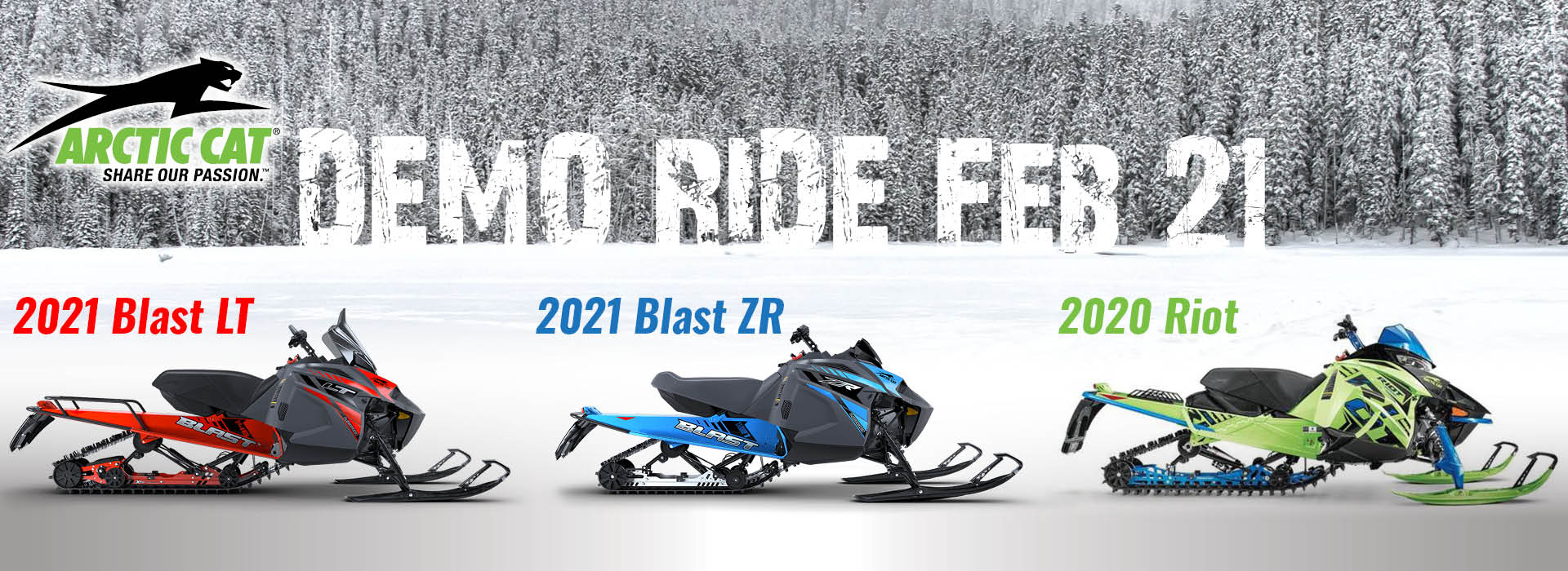 DEMO RIDE FRIDAY FEBRUARY 21